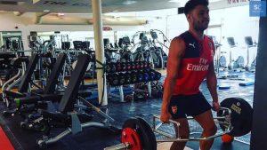 « Je ne veux pas faire de musculation ça va me ralentir sur le terrain. »